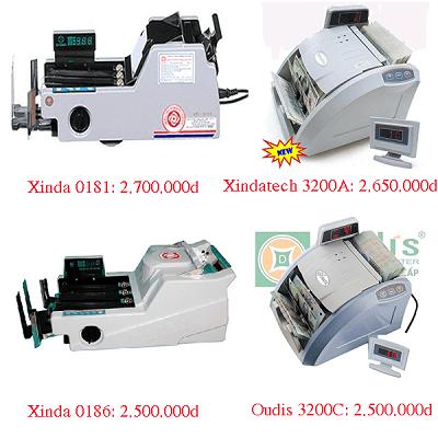 Mua máy đếm tiền tại Cam Ranh bạn nên chọn các sản phẩm chính hãng